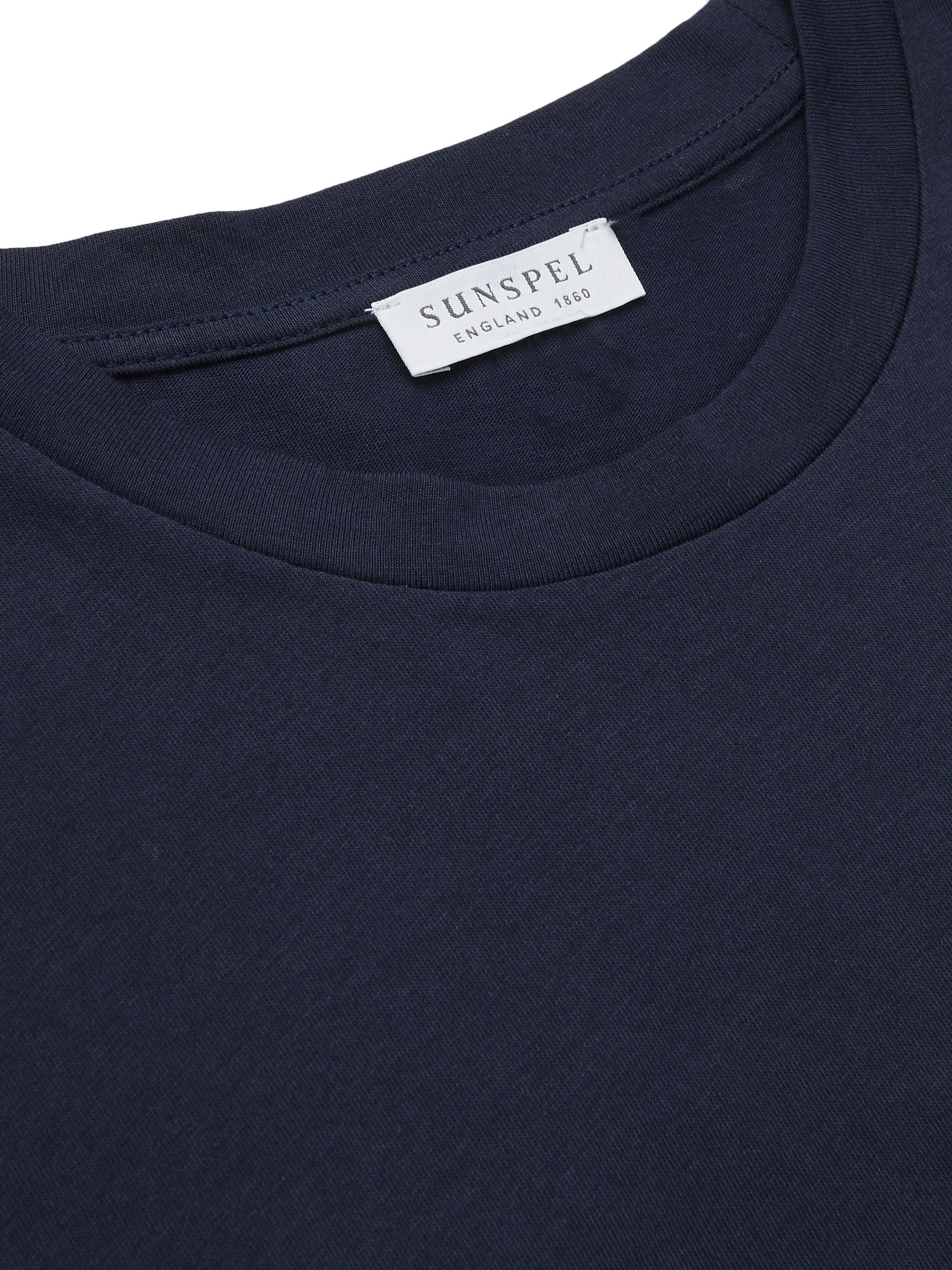 Sunspel Printed Cotton-Jersey T-Shirt