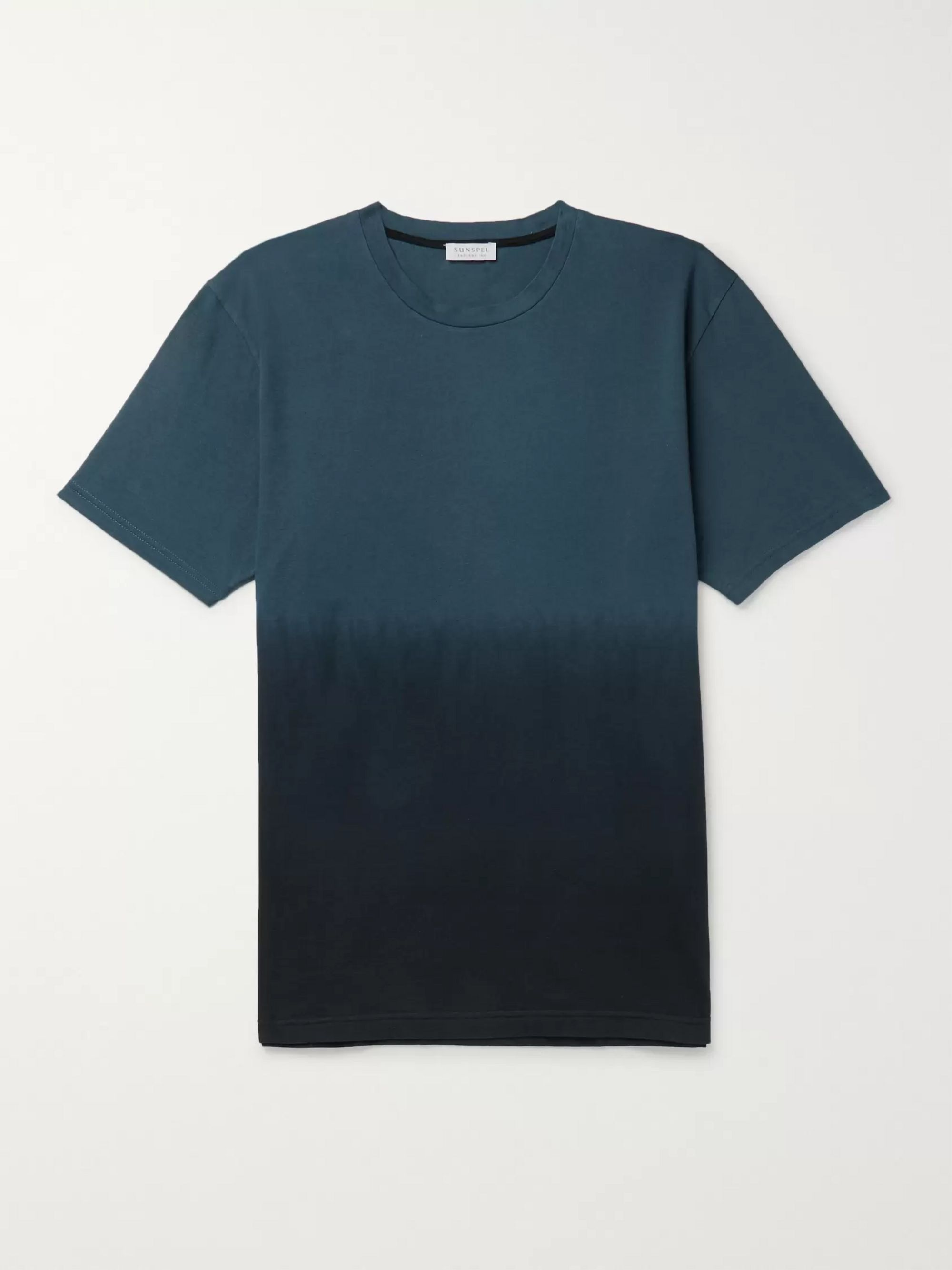 Sunspel Dégradé Cotton-Jersey T-Shirt