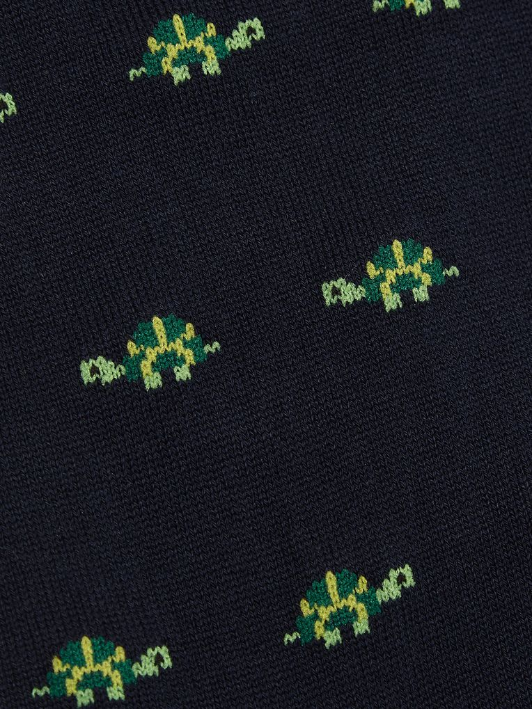 Marcoliani Intarsia Pima Cotton-Blend Socks