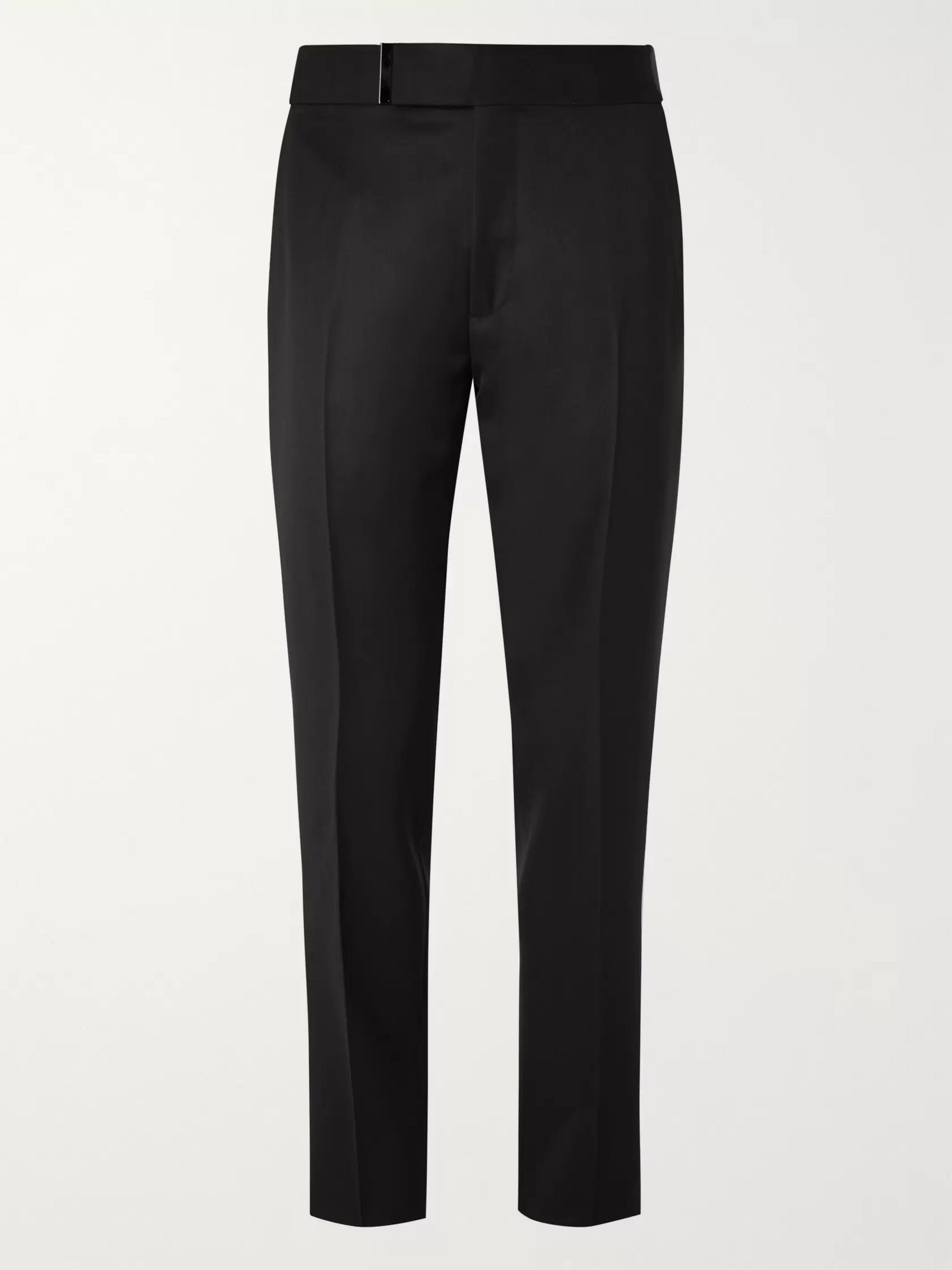 black-atticus-wool-and-mohair-blend-grain-de-poudre-trousers by tom-ford