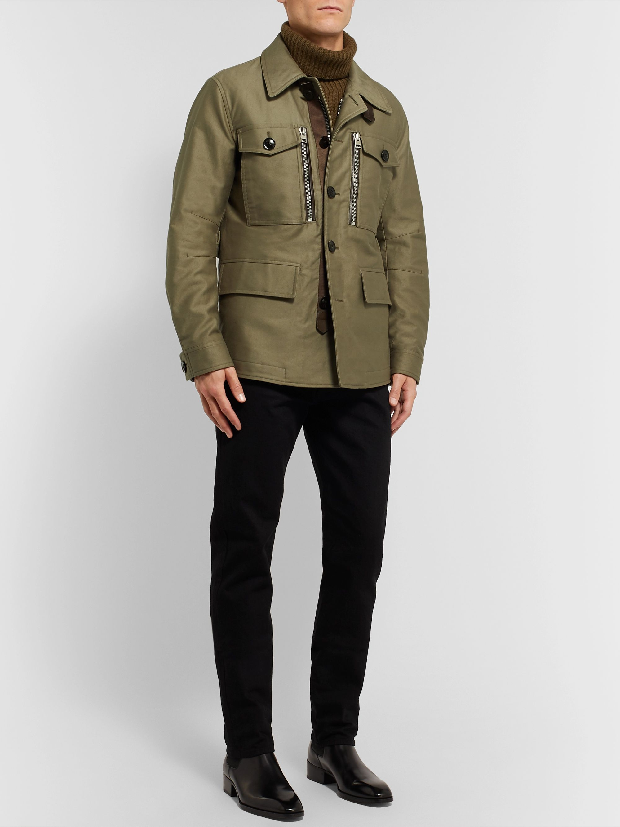 TOM FORD Cotton-Twill Field Jacket
