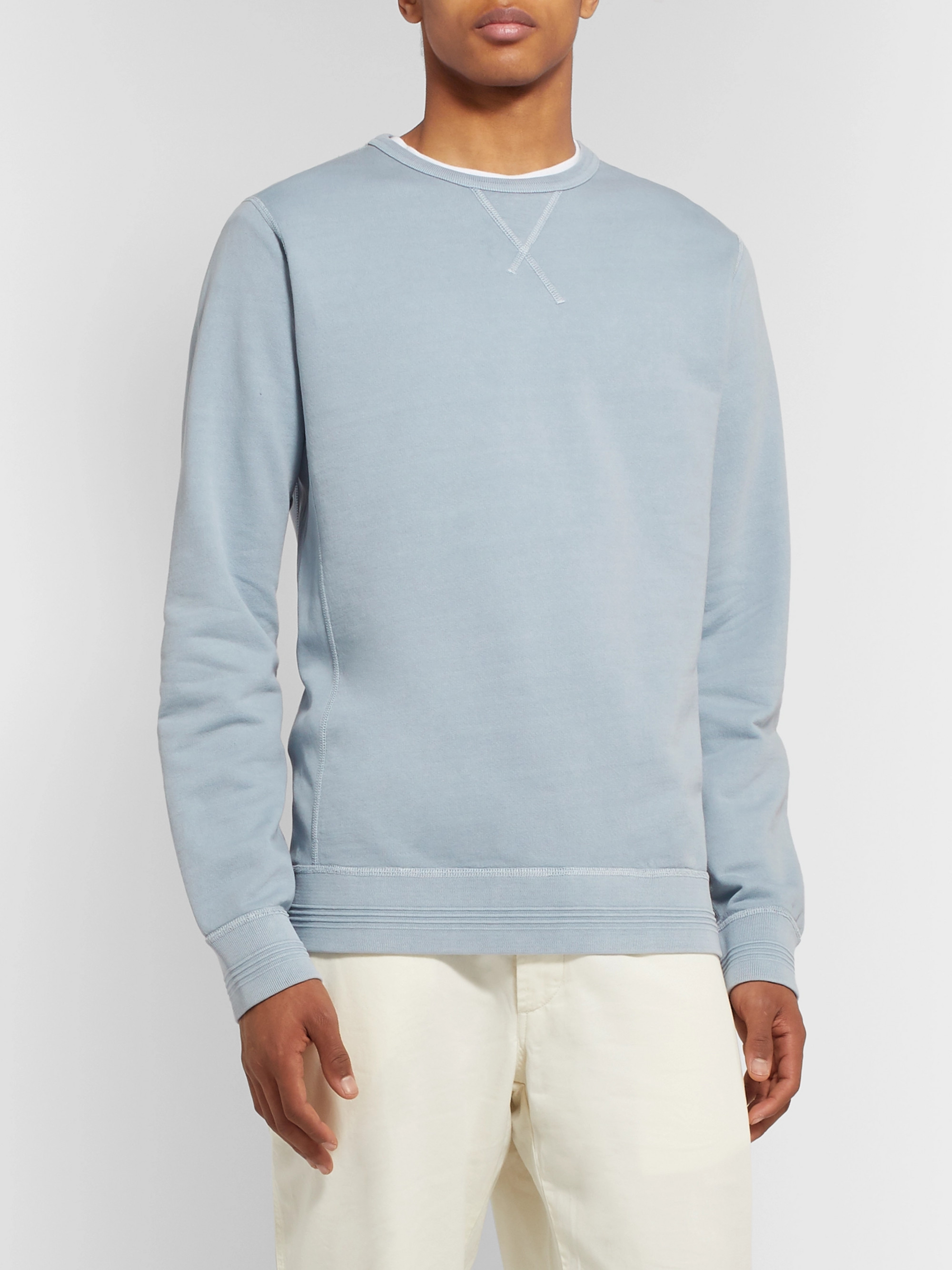 Albam Loopback Cotton-Jersey Sweatshirt