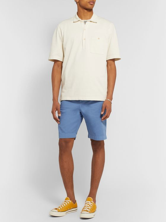 Albam Cotton-Twill Shorts