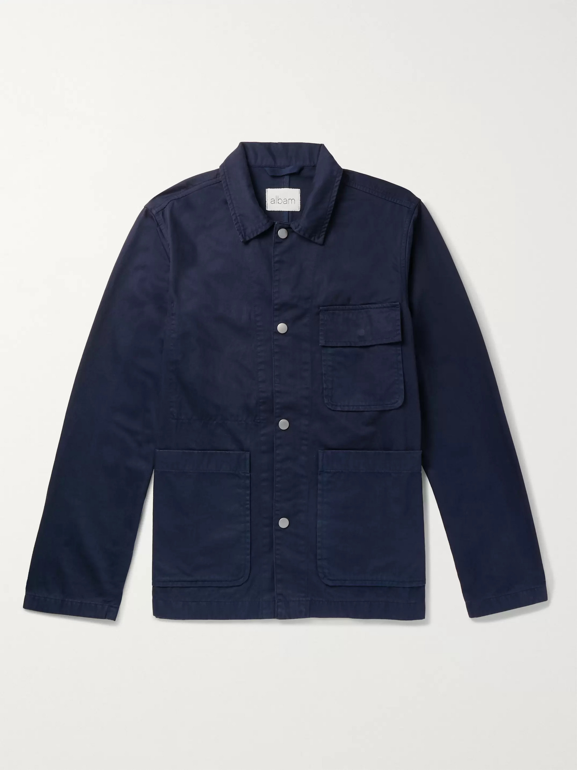Albam Cotton-Twill Chore Jacket