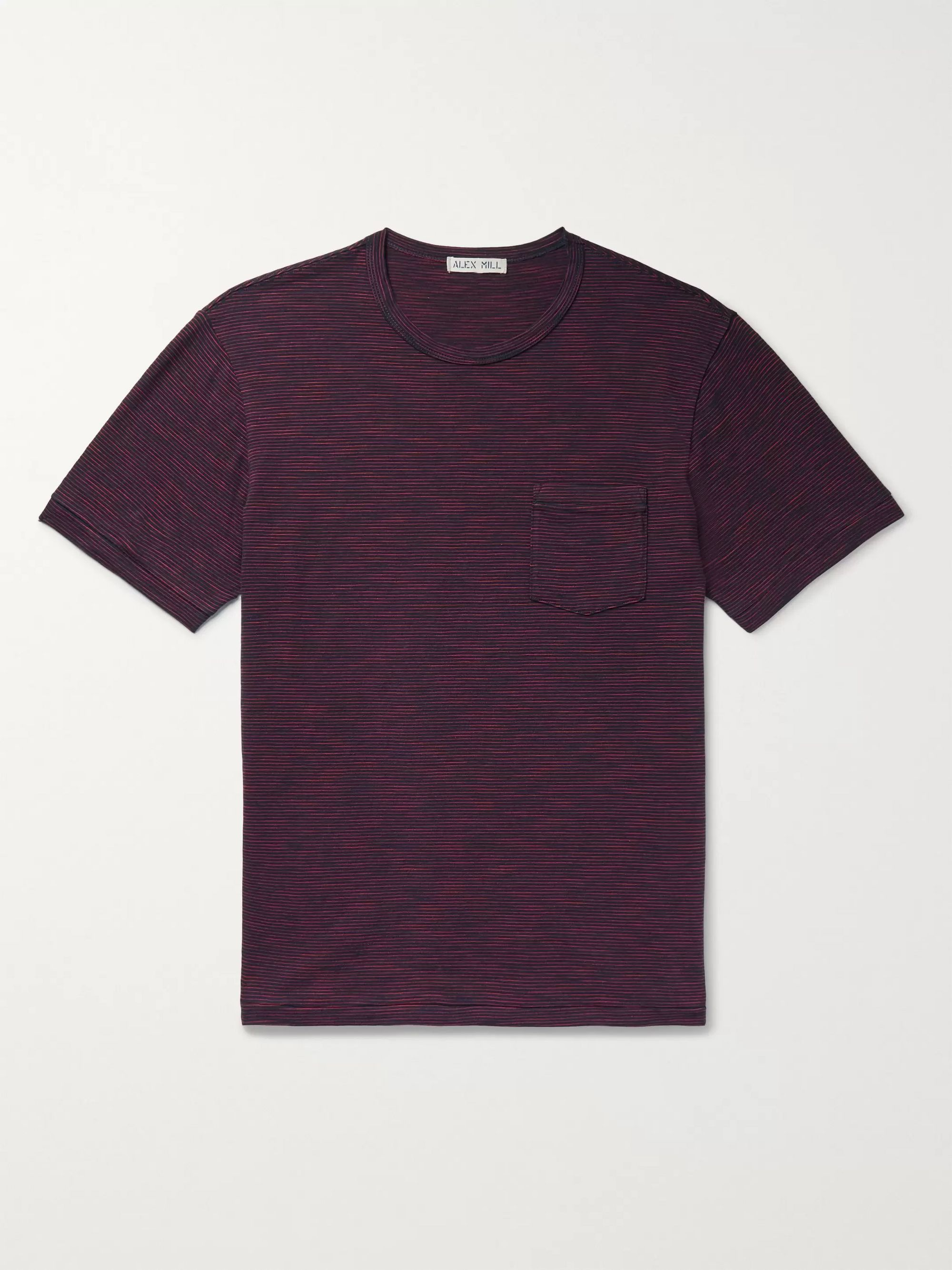 Alex Mill Striped Cotton-Jersey T-Shirt