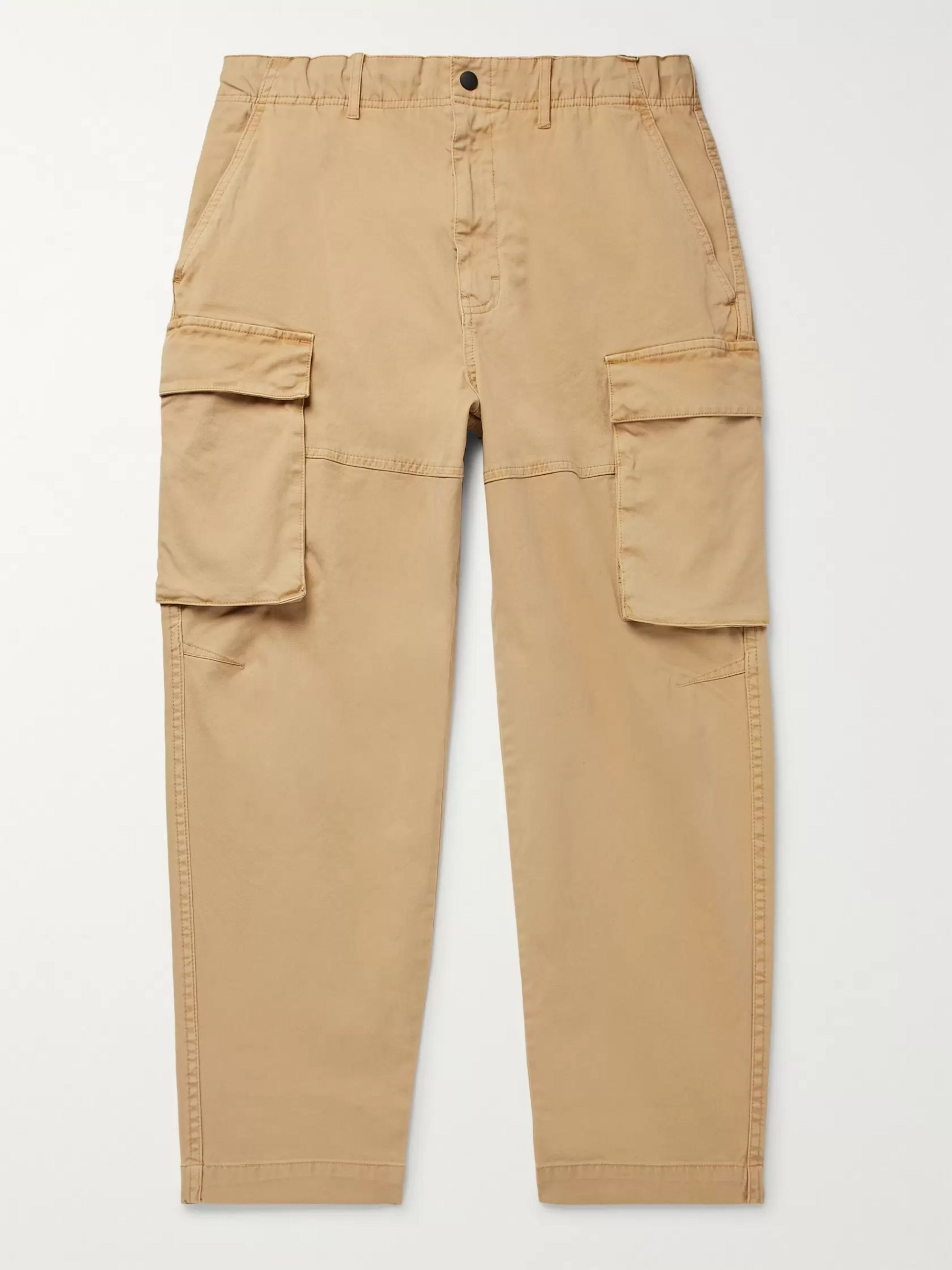 Alex Mill Cotton-Blend Twill Cargo Trousers