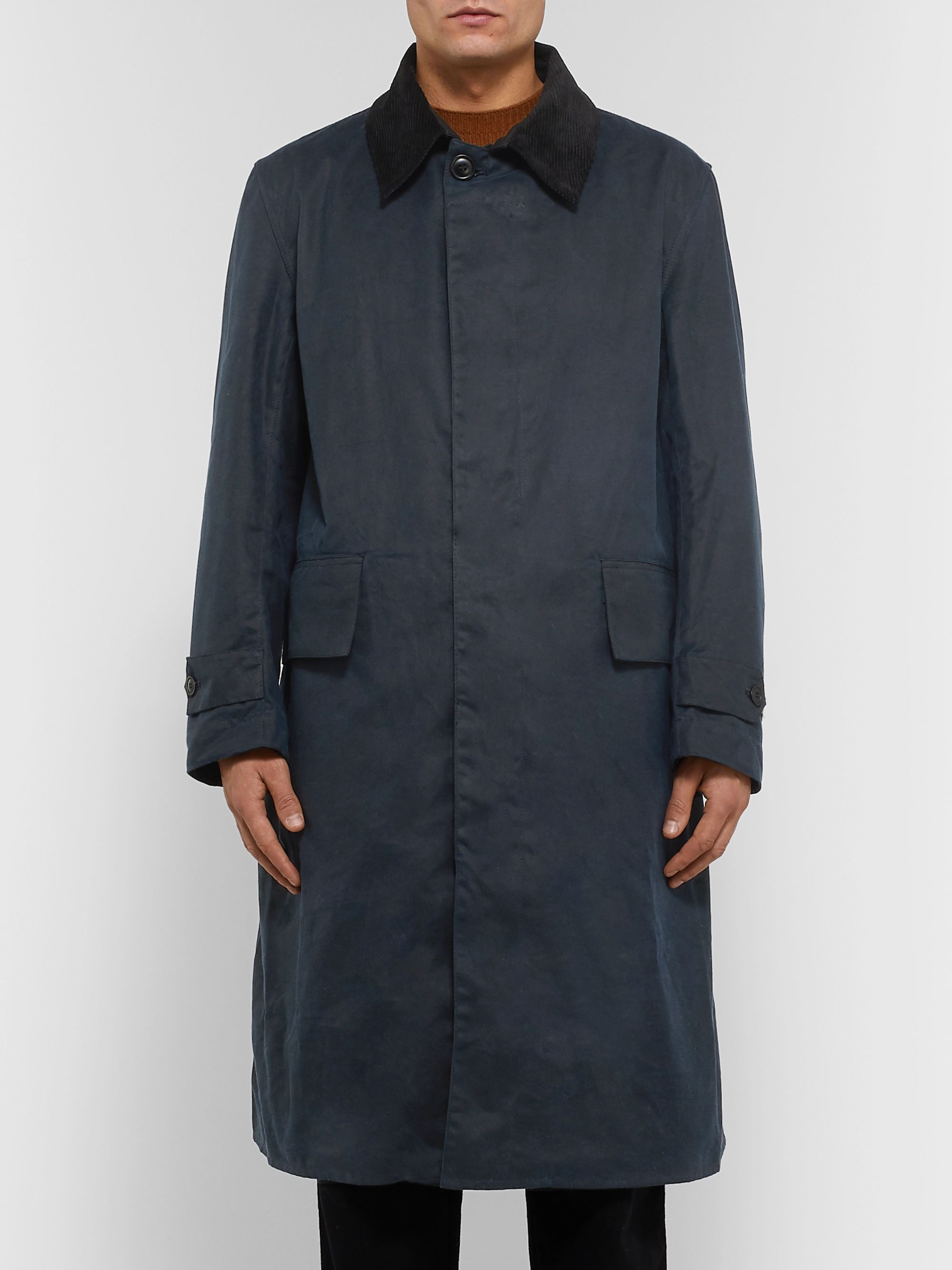 Barbour White Label + Margaret Howell Waxed-Cotton Coat