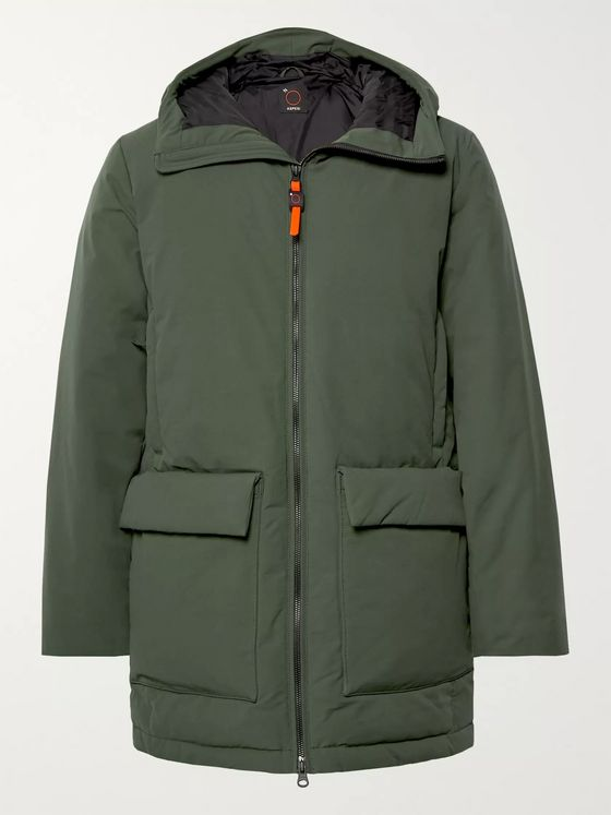Aspesi Shell Hooded Down Jacket