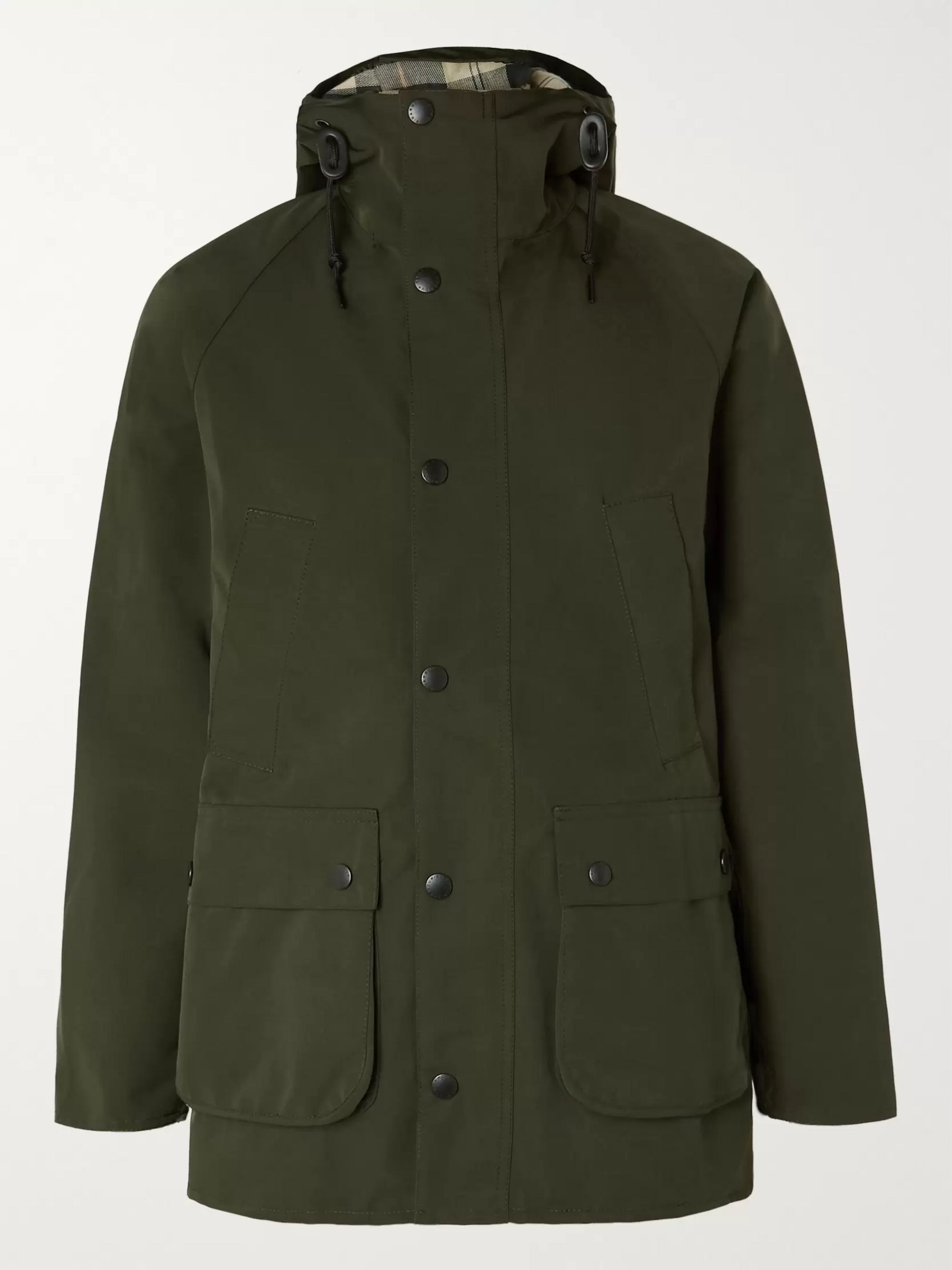 Barbour White Label White Label Bedale Slim-Fit Hooded Shell Jacket