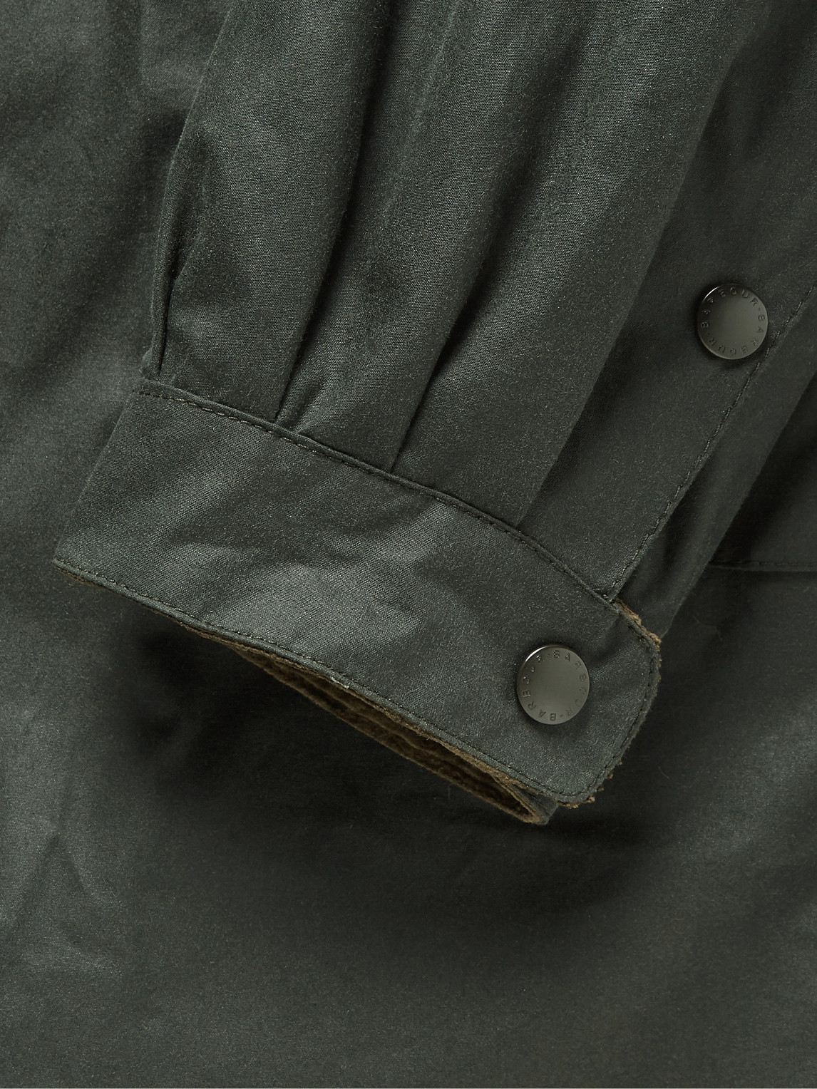 Barbour White Label - White Label Despatch Riders Belted Corduroy-trimmed Waxed-cotton Jacket - Green - M - Men
