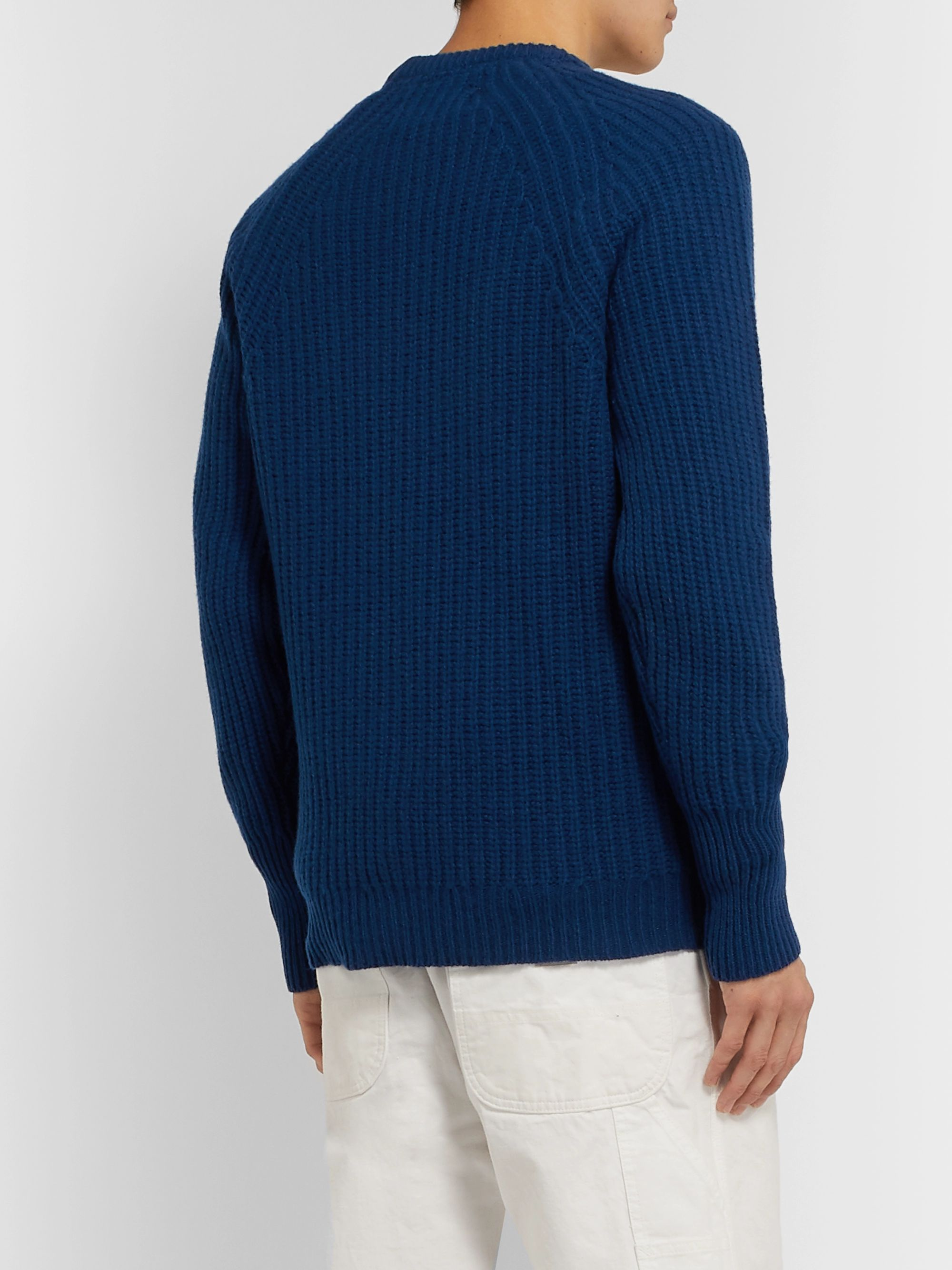 Barbour White Label White Label Tynedale Ribbed Wool Sweater