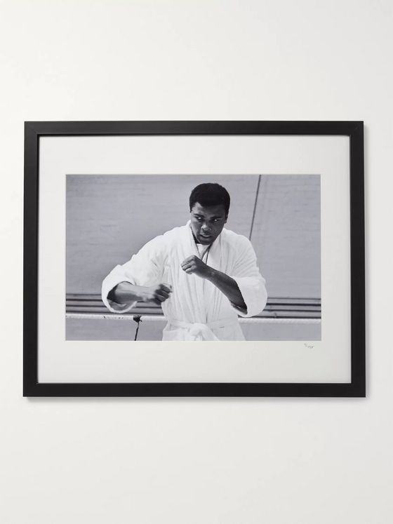 "Sonic Editions Framed 1966 Cassius Clay Print, 16"" x 20"""