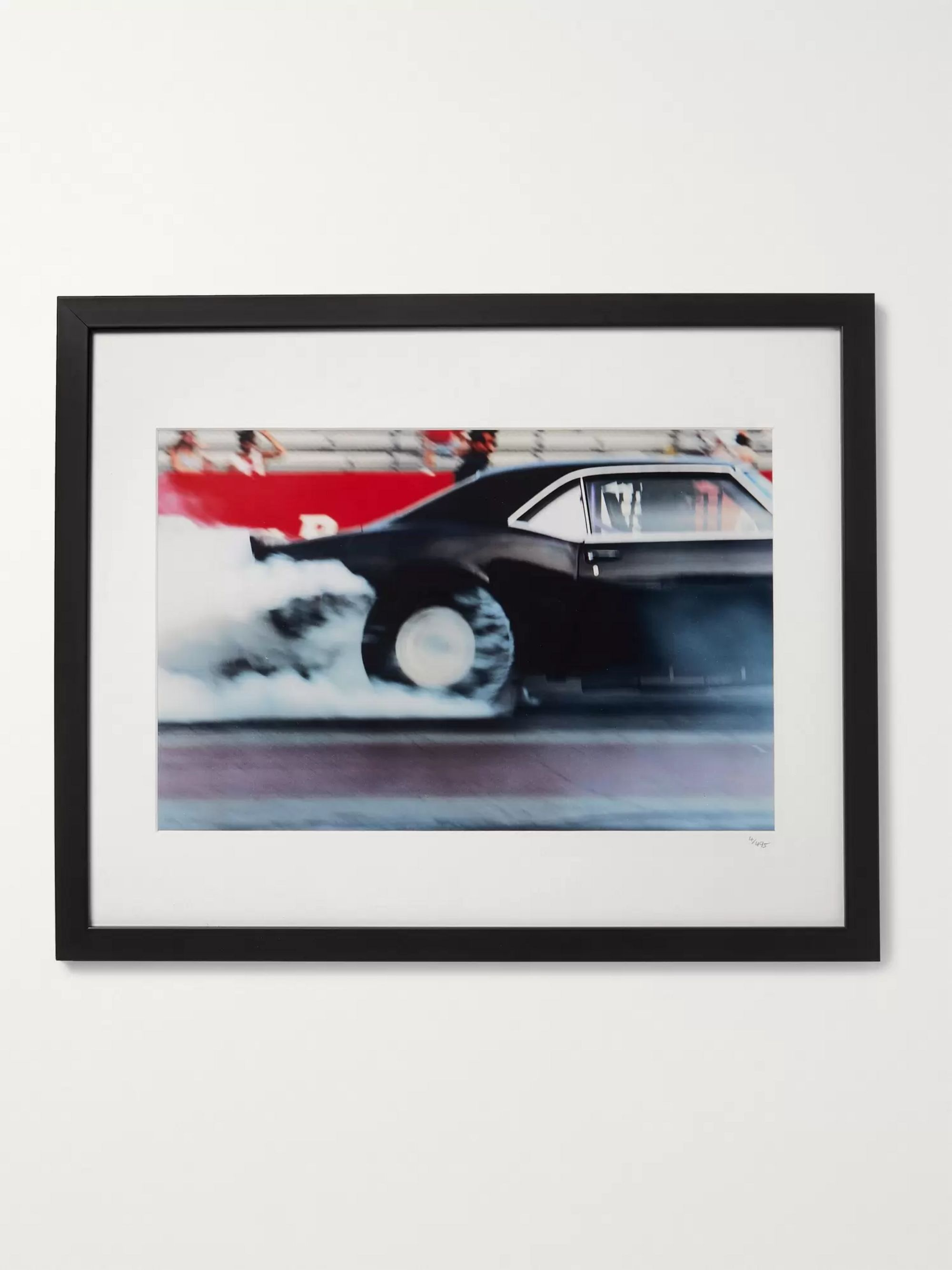 "Sonic Editions Framed 1999 Dewey Nicks Big Block Camaro, 16"" x 20"""