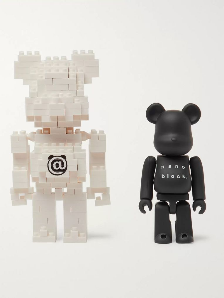 BE@RBRICK + Nanoblock Figurine Set
