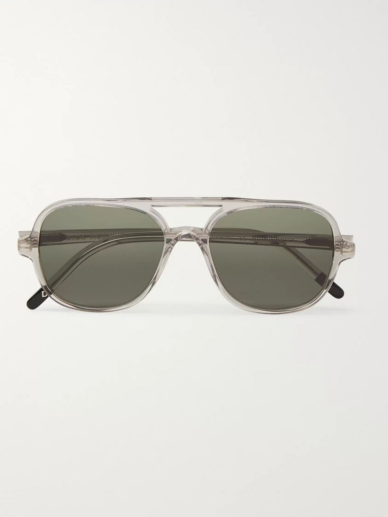 Dick Moby Hannover Aviator-Style Acetate Sunglasses