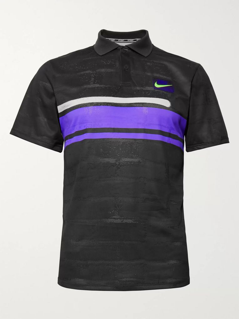 Nike Tennis NikeCourt Advantage Perforated Dri-FIT Tennis Polo Shirt