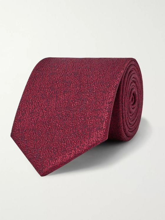 Charvet 7.5cm Silk and Wool-Blend Tie