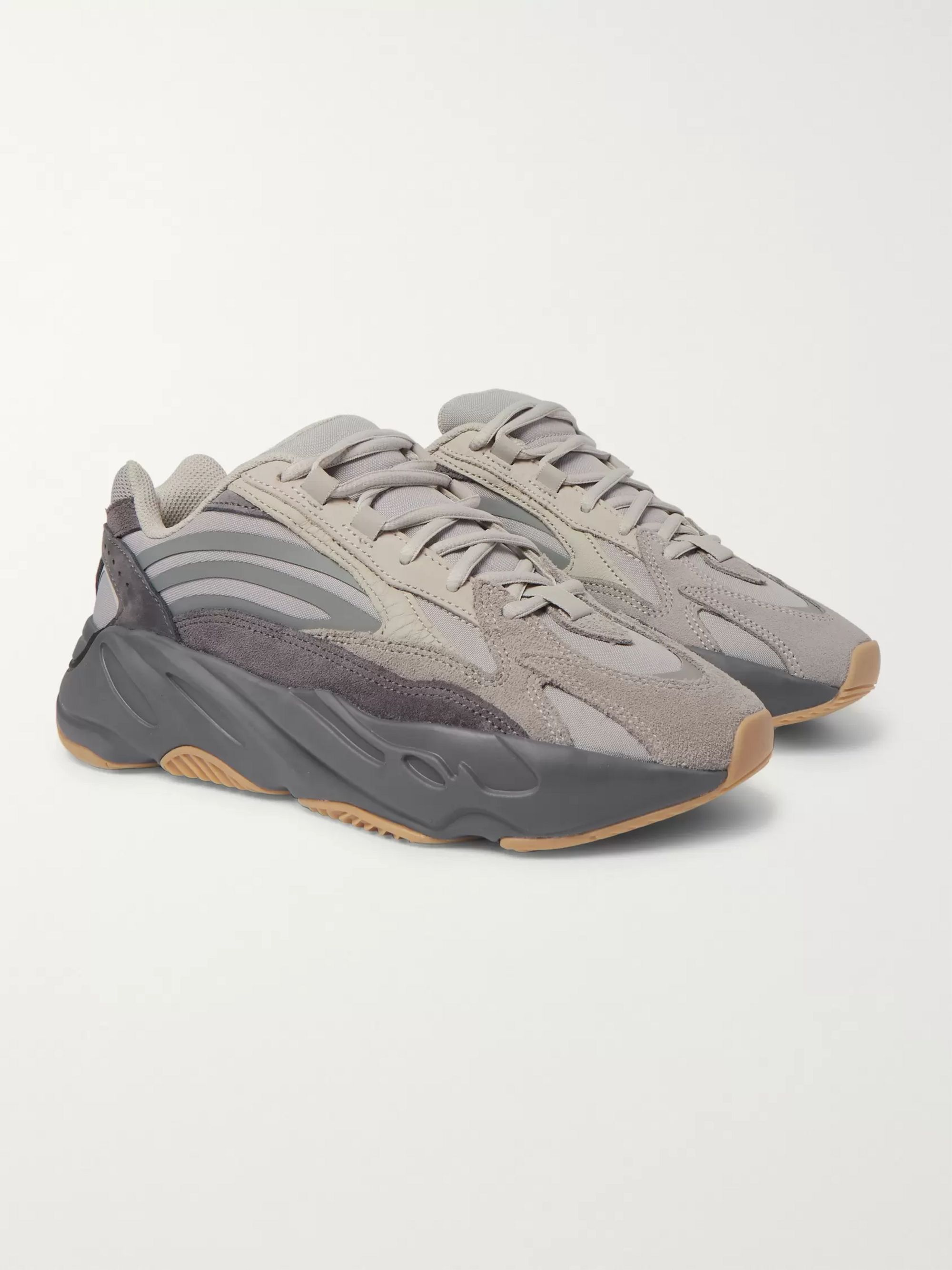 new arrival e1635 4f665 Yeezy Boost 700 V2 Nubuck, Leather and Mesh Sneakers