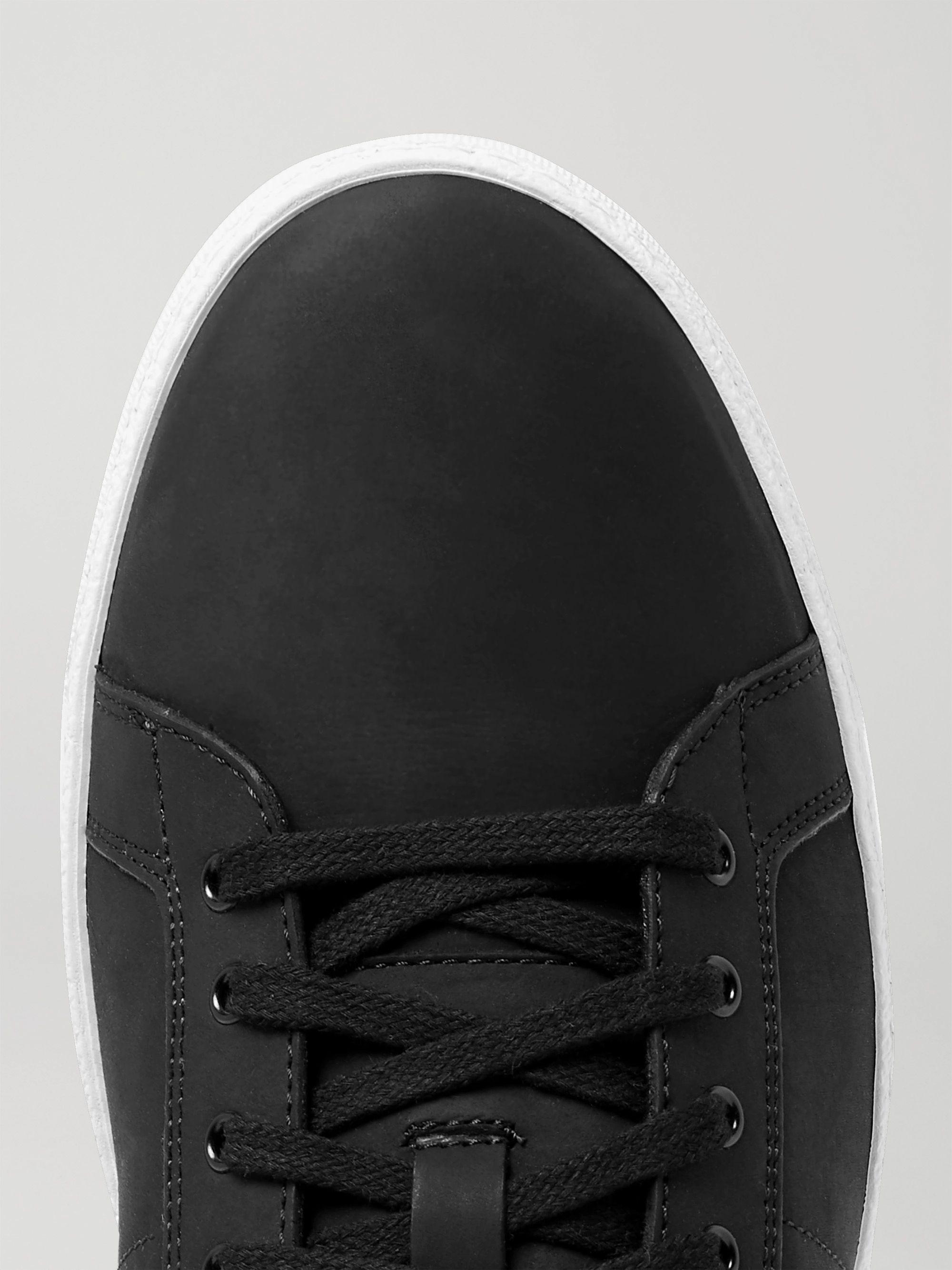 Black Nubuck Sneakers | J.m. Weston