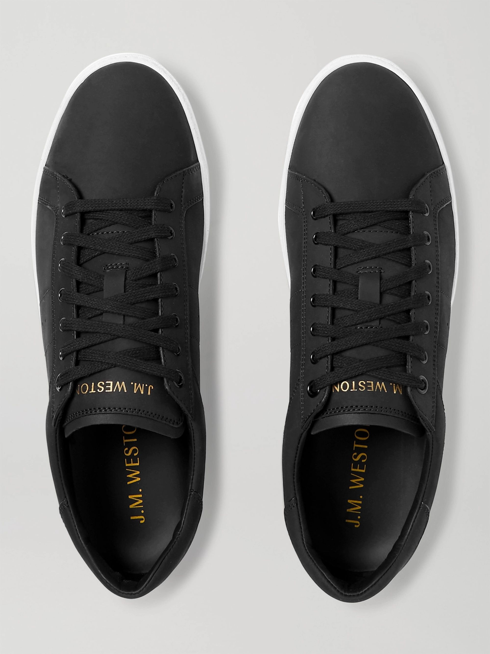 J.M. Weston Nubuck Sneakers
