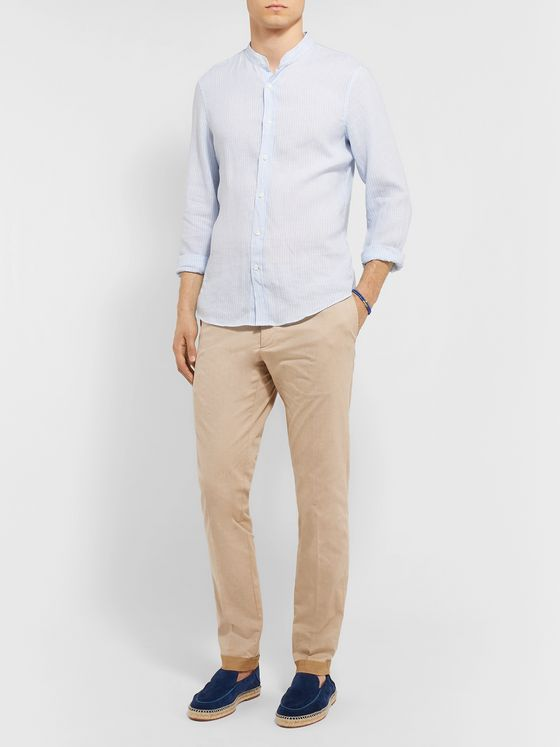 Tod's Tapered Solaro Cotton-Blend Twill Trousers