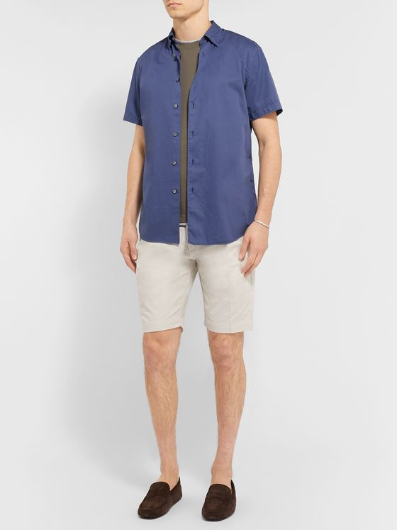 Tod's Solaro Cotton-Blend Shorts