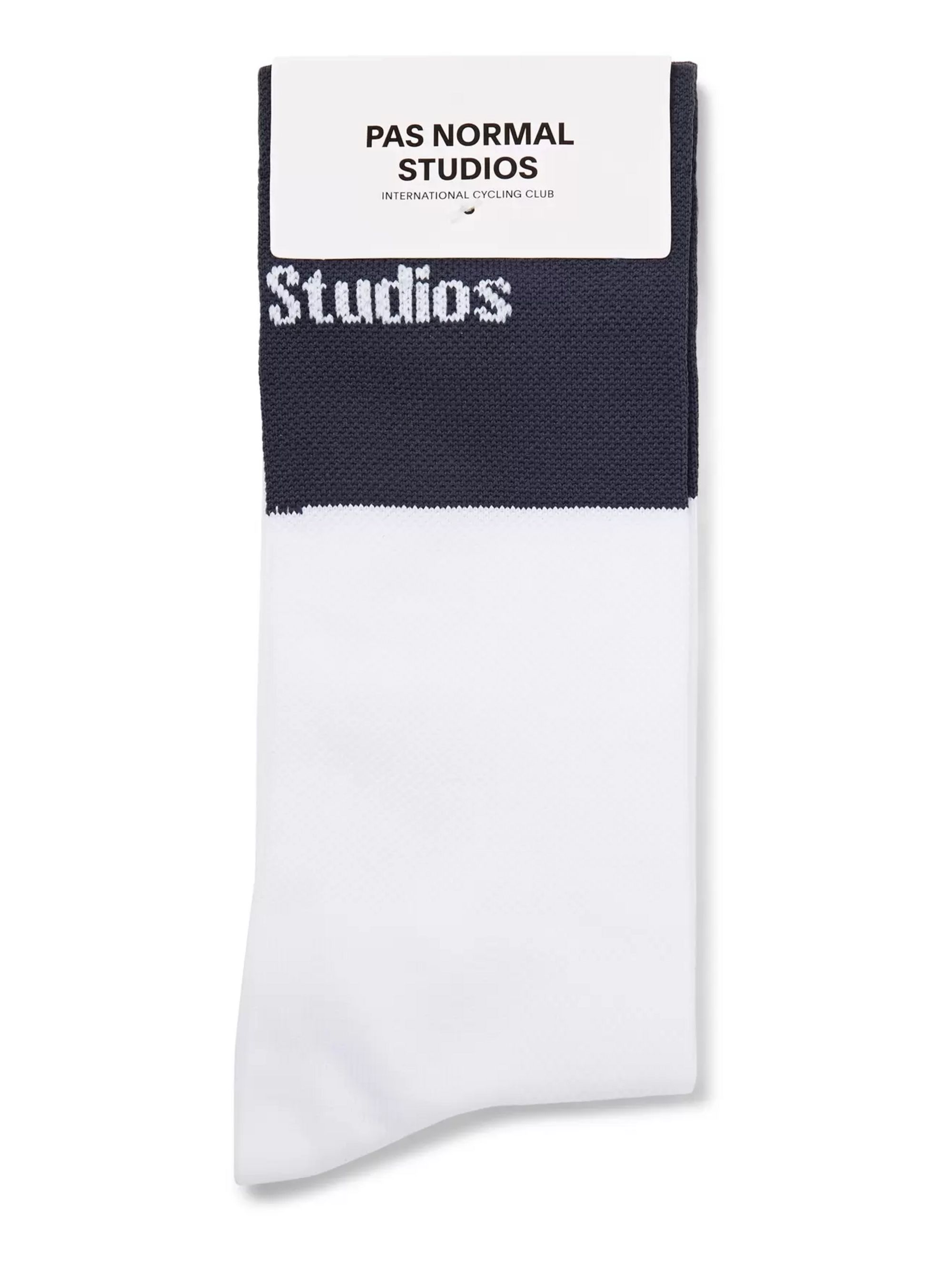 Pas Normal Studios Logo-Jacquard Cycling Socks