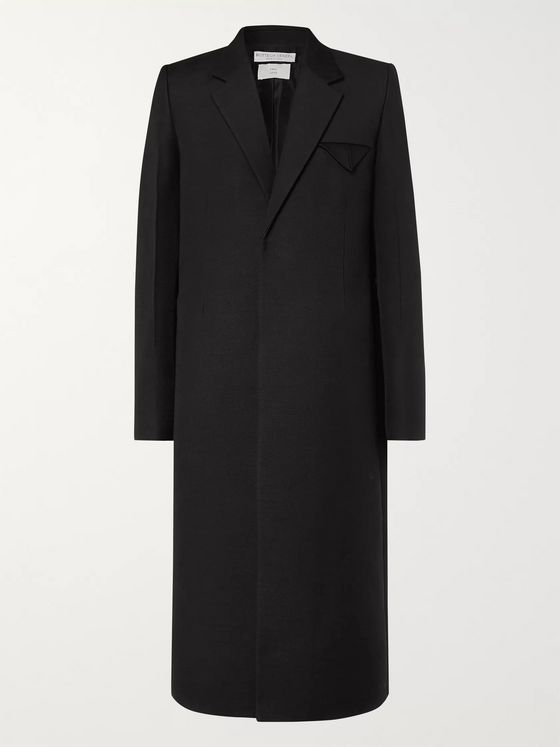 Bottega Veneta Slim-Fit Woven Overcoat