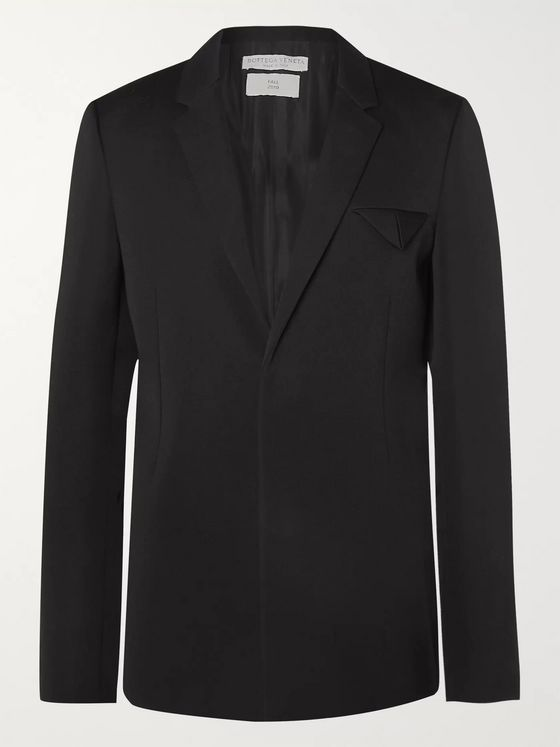 Bottega Veneta Black Wool Blazer
