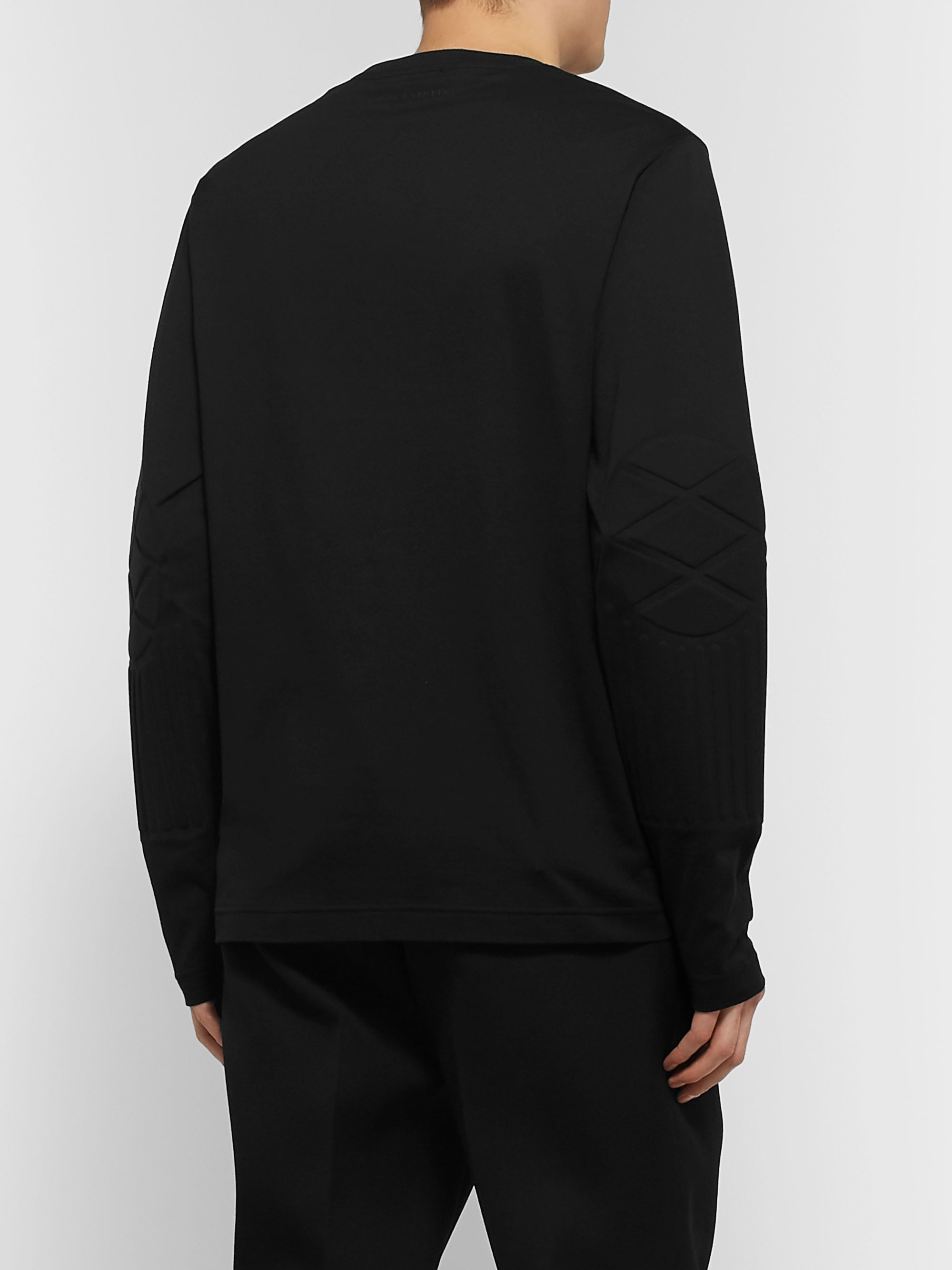 Bottega Veneta Panelled Cotton-Jersey T-Shirt