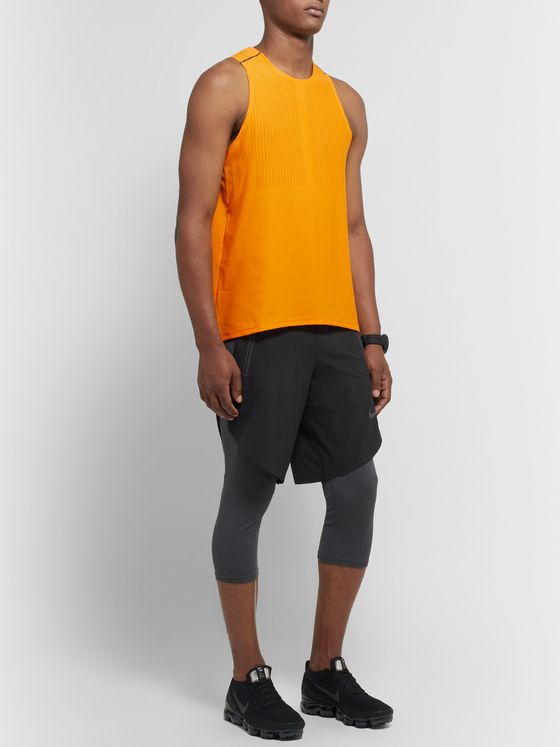 Nike Running Tech Pack Stretch-Mesh Tank Top