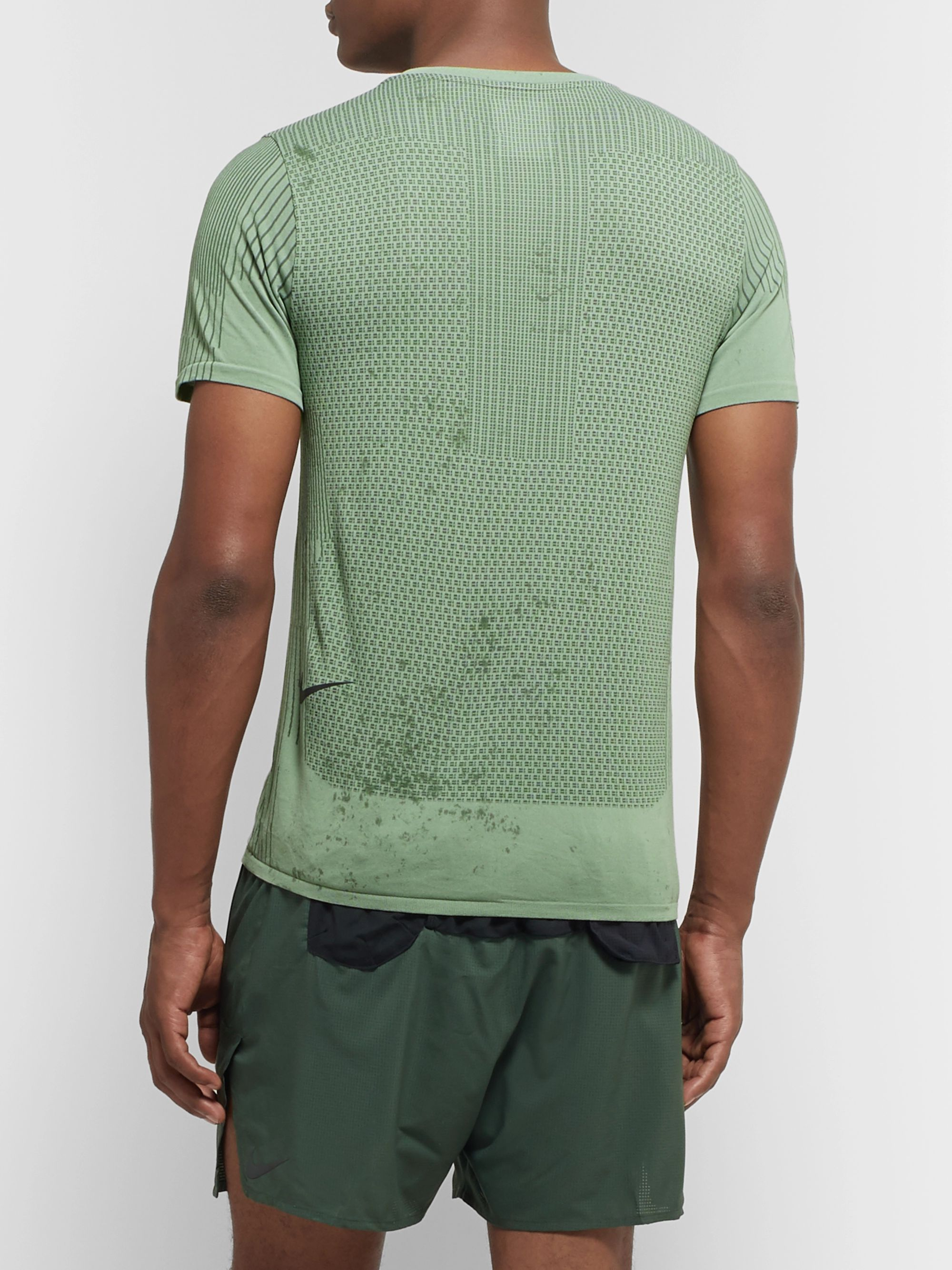 Nike Running Tech Pack Stretch-Mesh Running T-Shirt