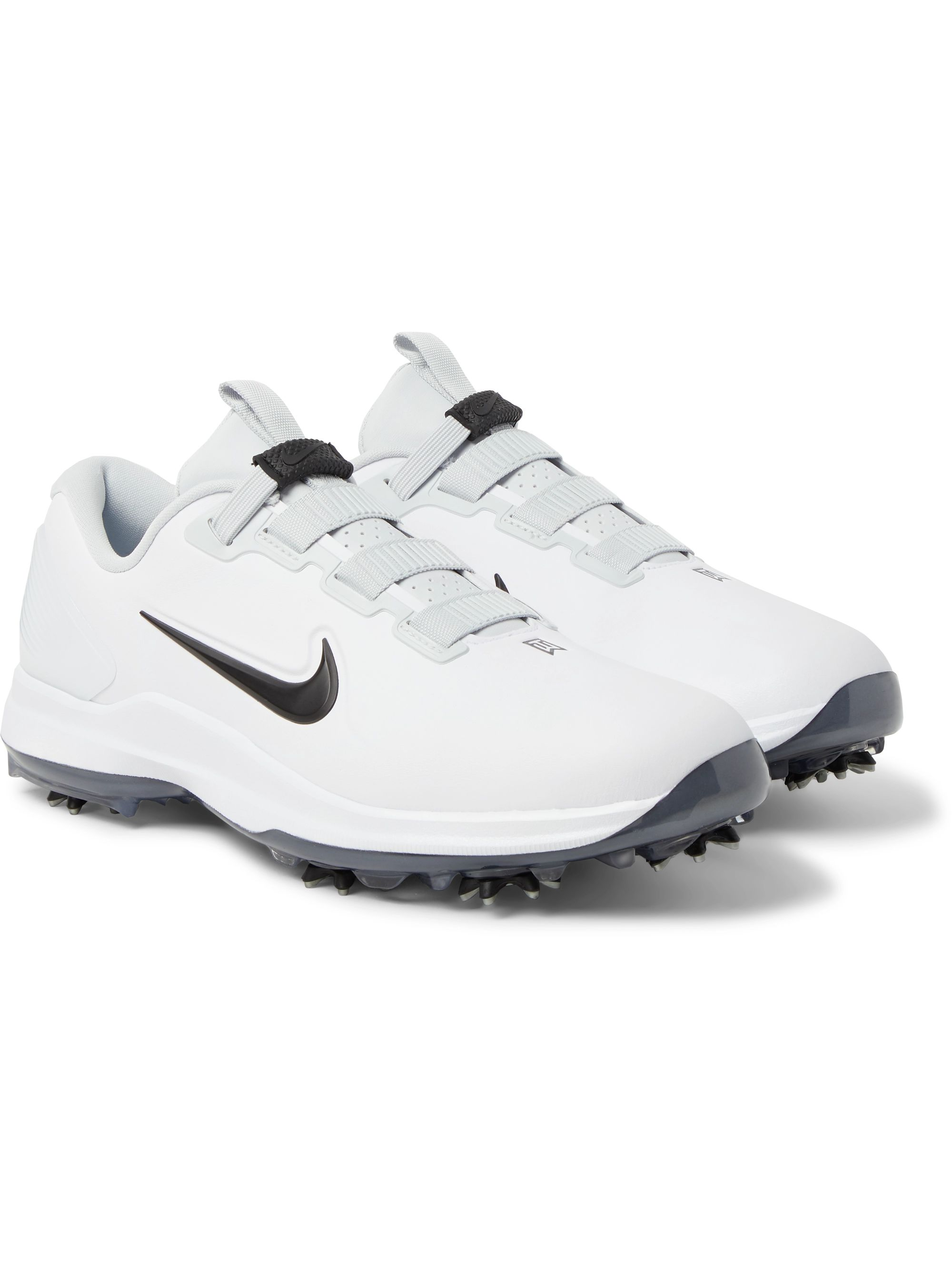Nike Golf Tiger Woods 71 FastFit Faux Leather Golf Shoes