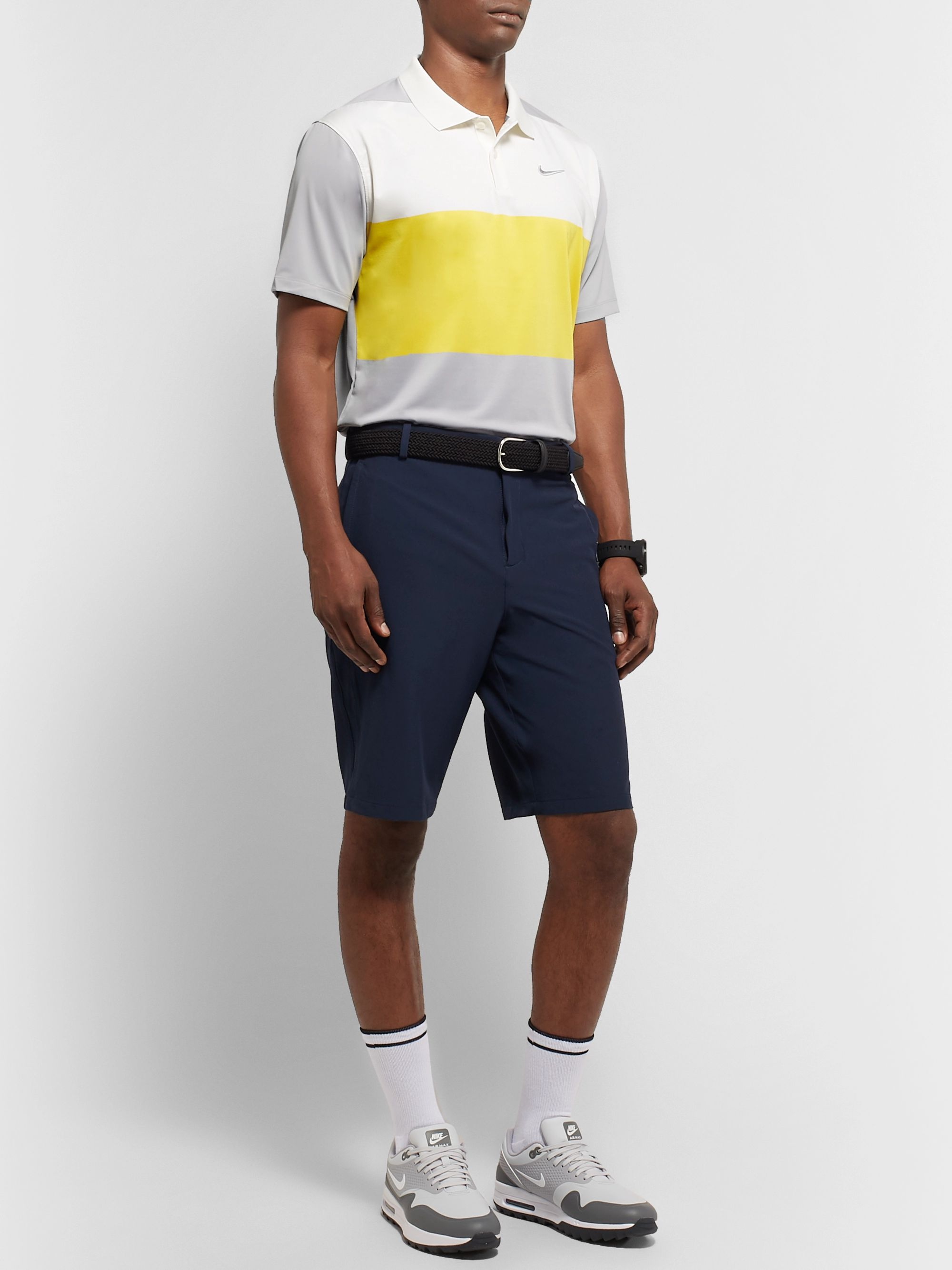 Nike Golf Vapor Colour-Block Dri-FIT Polo Shirt