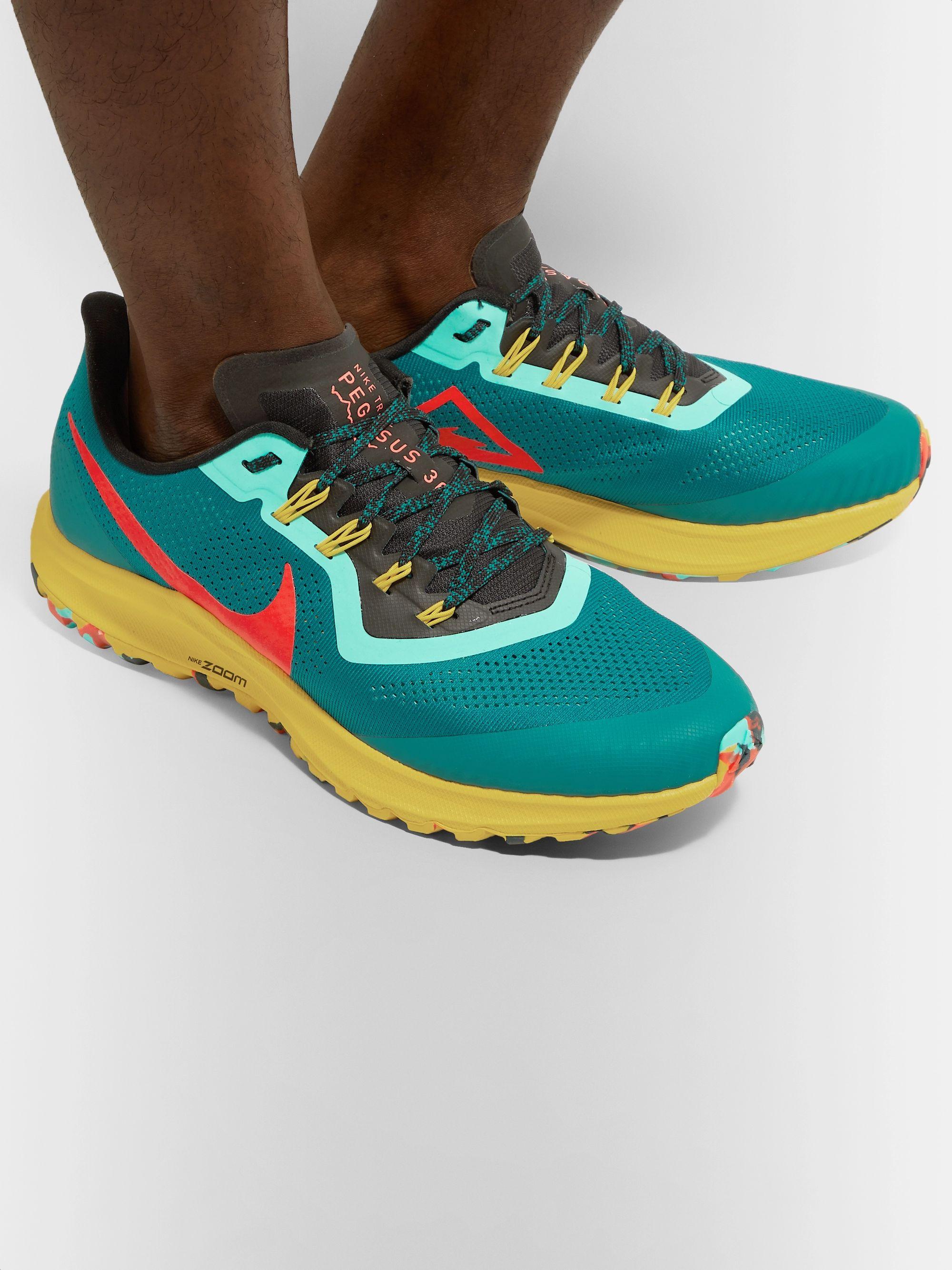 Air Zoom Pegasus 36 Trail Mesh Running Sneakers