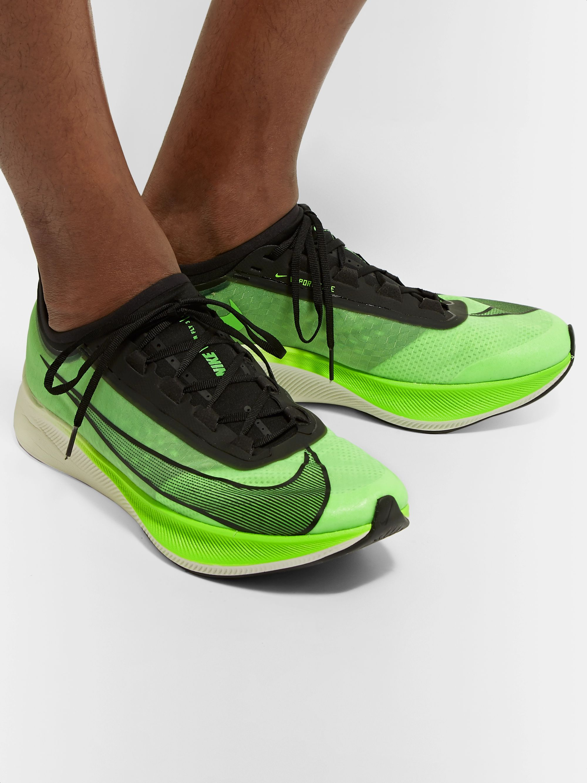 Nike Running Zoom Fly 3 Vaporweave Running Sneakers