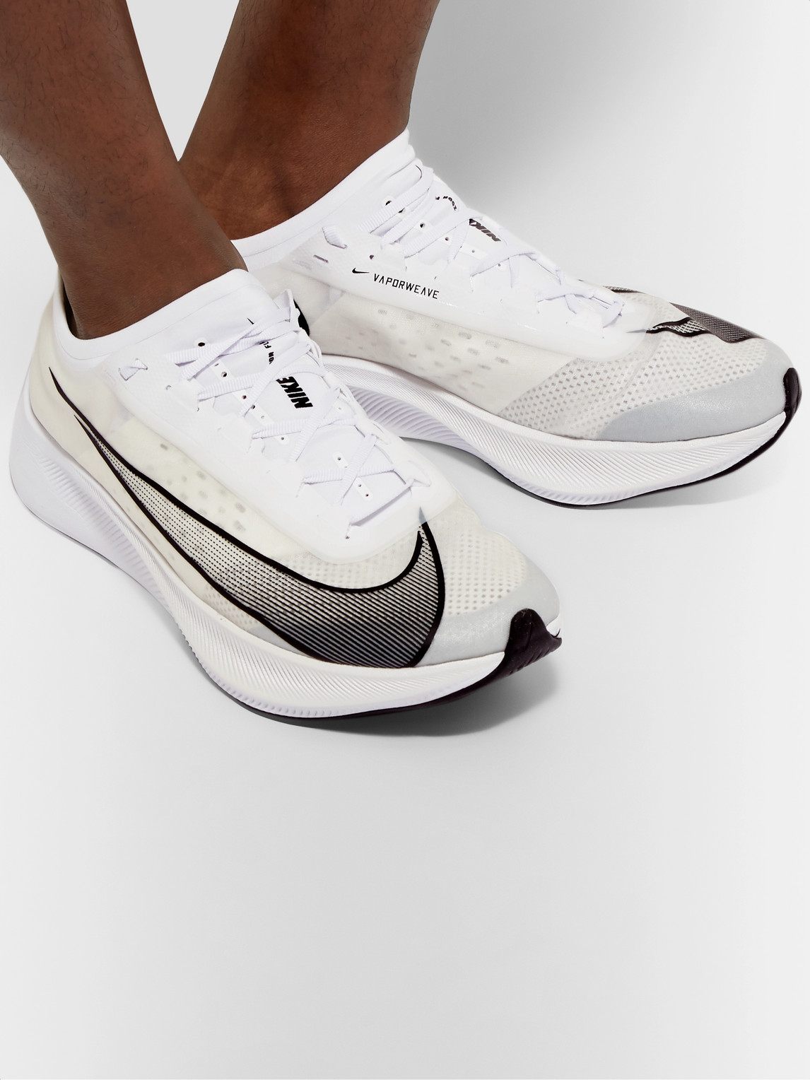 Nike Sneakers ZOOM FLY 3 VAPORWEAVE RUNNING SNEAKERS