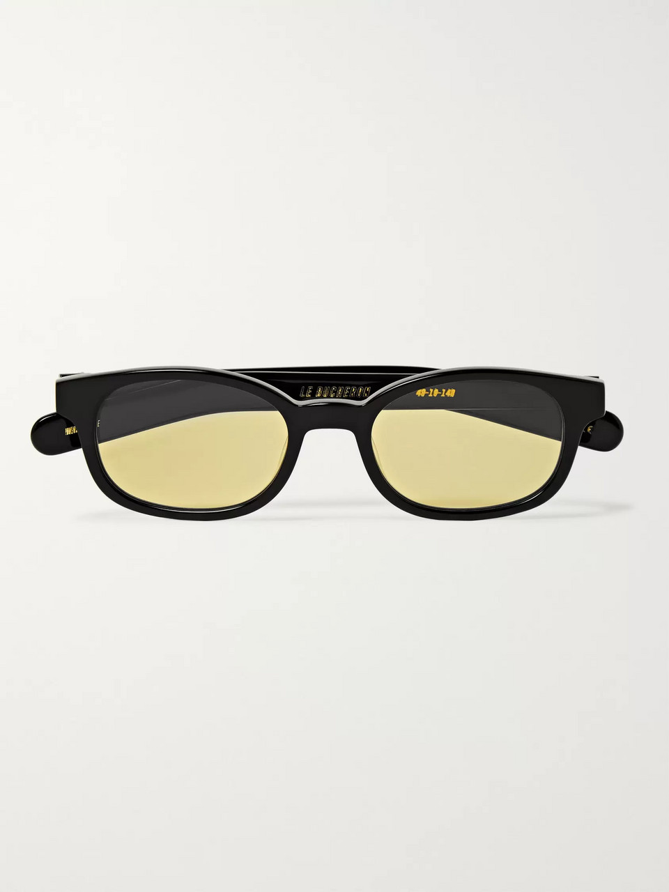 FLATLIST Le Bucheron Rectangle-Frame Acetate Sunglasses