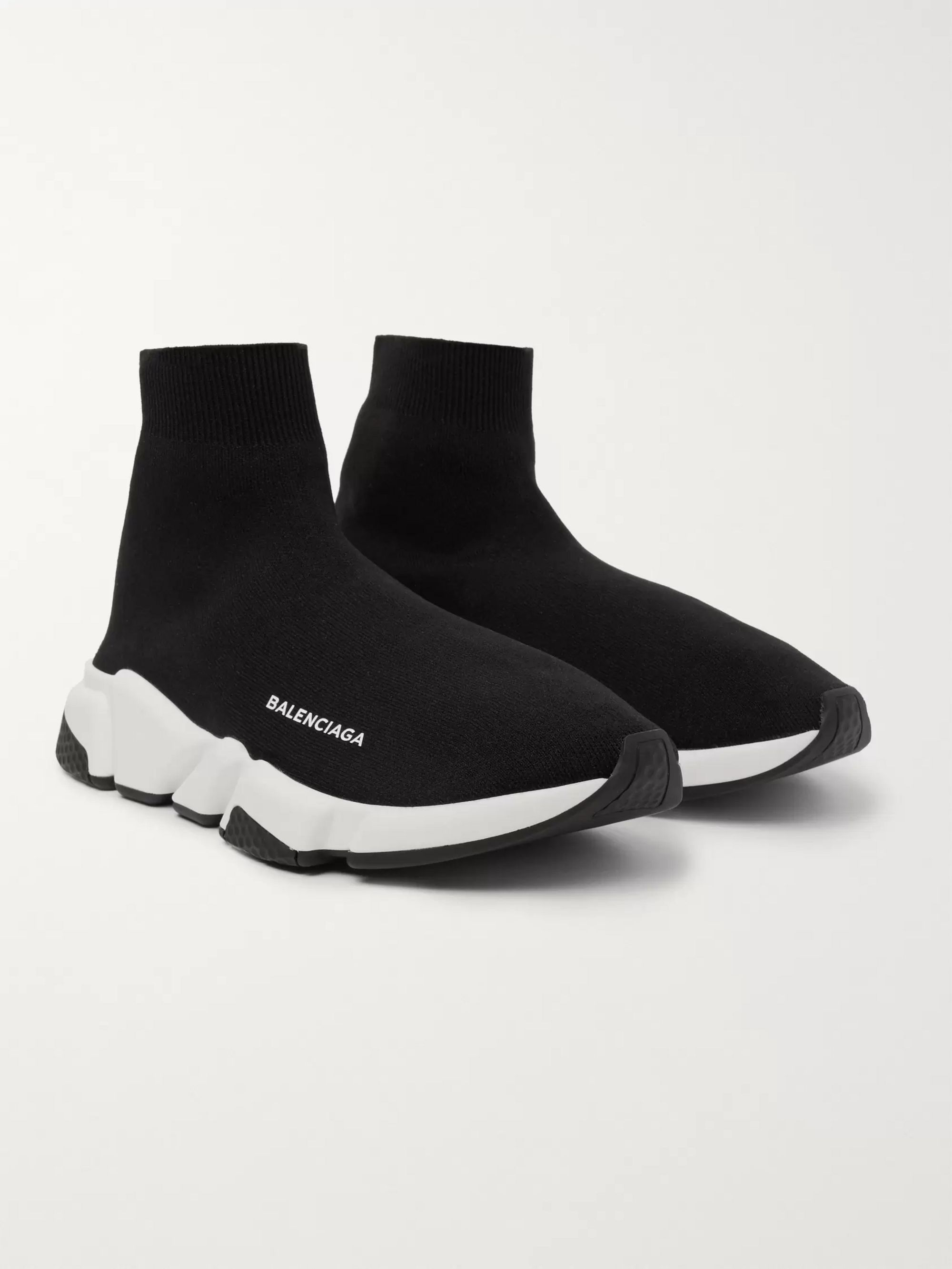 on wholesale hot sale online here Speed Sock Stretch-Knit Slip-On Sneakers