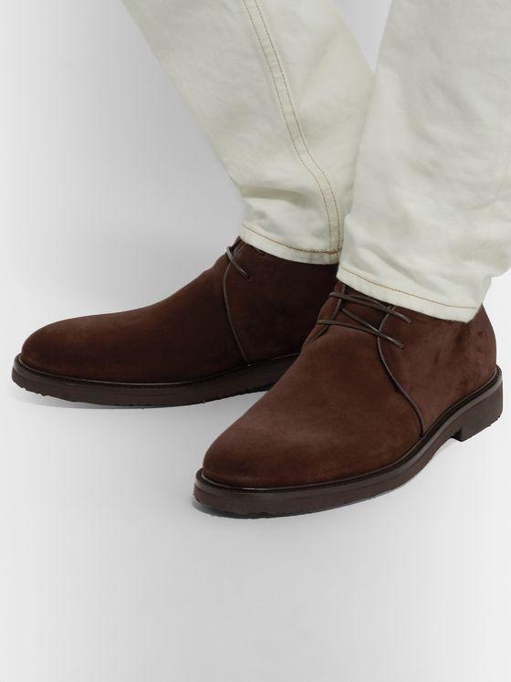 Suede Shoes | Ermenegildo Zegna | MR PORTER
