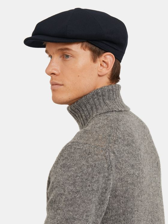 Lock & Co Hatters Tremelo Wool and Alpaca-Blend Flat Cap