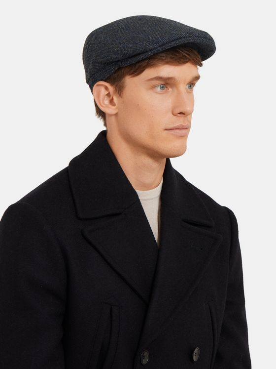 Lock & Co Hatters Drifter Virgin Wool-Tweed Flat Cap