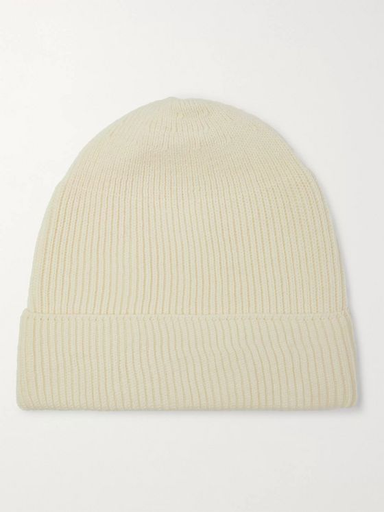 Bellerose Ance Ribbed Wool Beanie