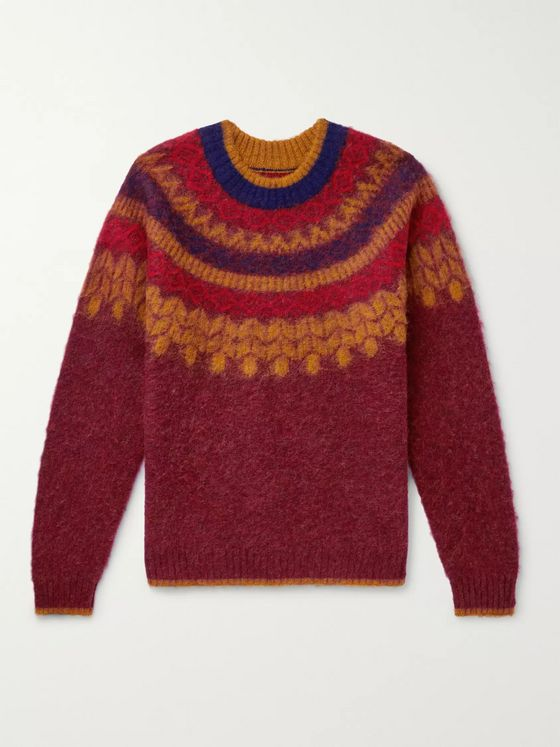 Bellerose Fair Isle Wool Sweater