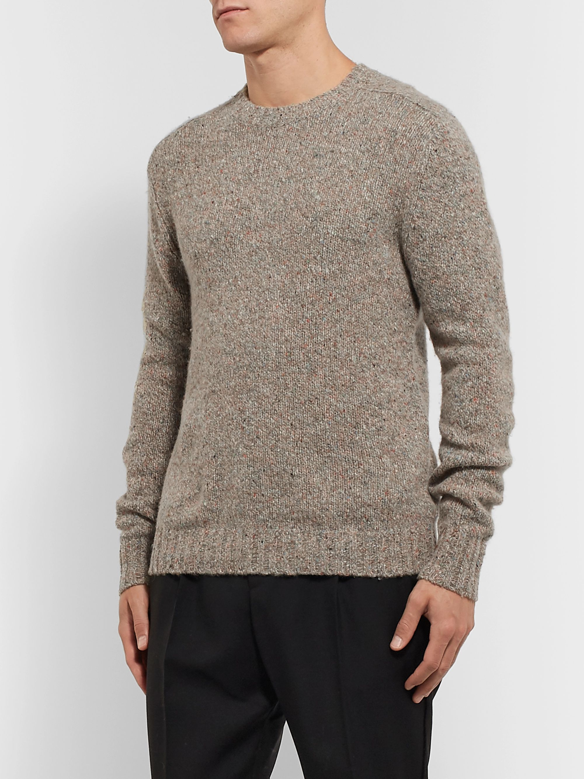 Bellerose Mélange Wool-Blend Sweater