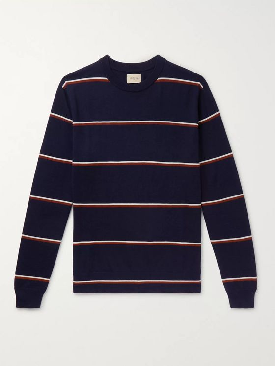 Bellerose Dilmy Striped Wool Sweater