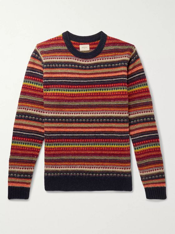 Bellerose Aomy Fair Isle Wool Sweater