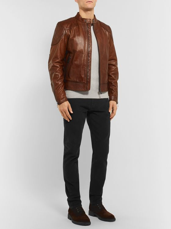 BELSTAFF Longton Slim-Fit Cotton-Corduroy Trousers
