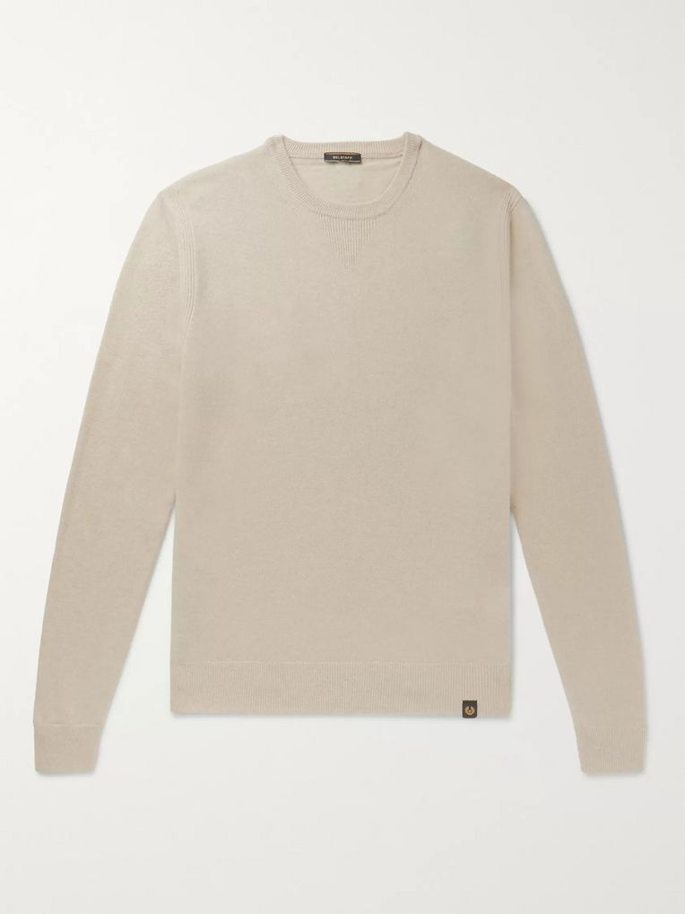 Belstaff Wool and Cashmere-Blend Sweater