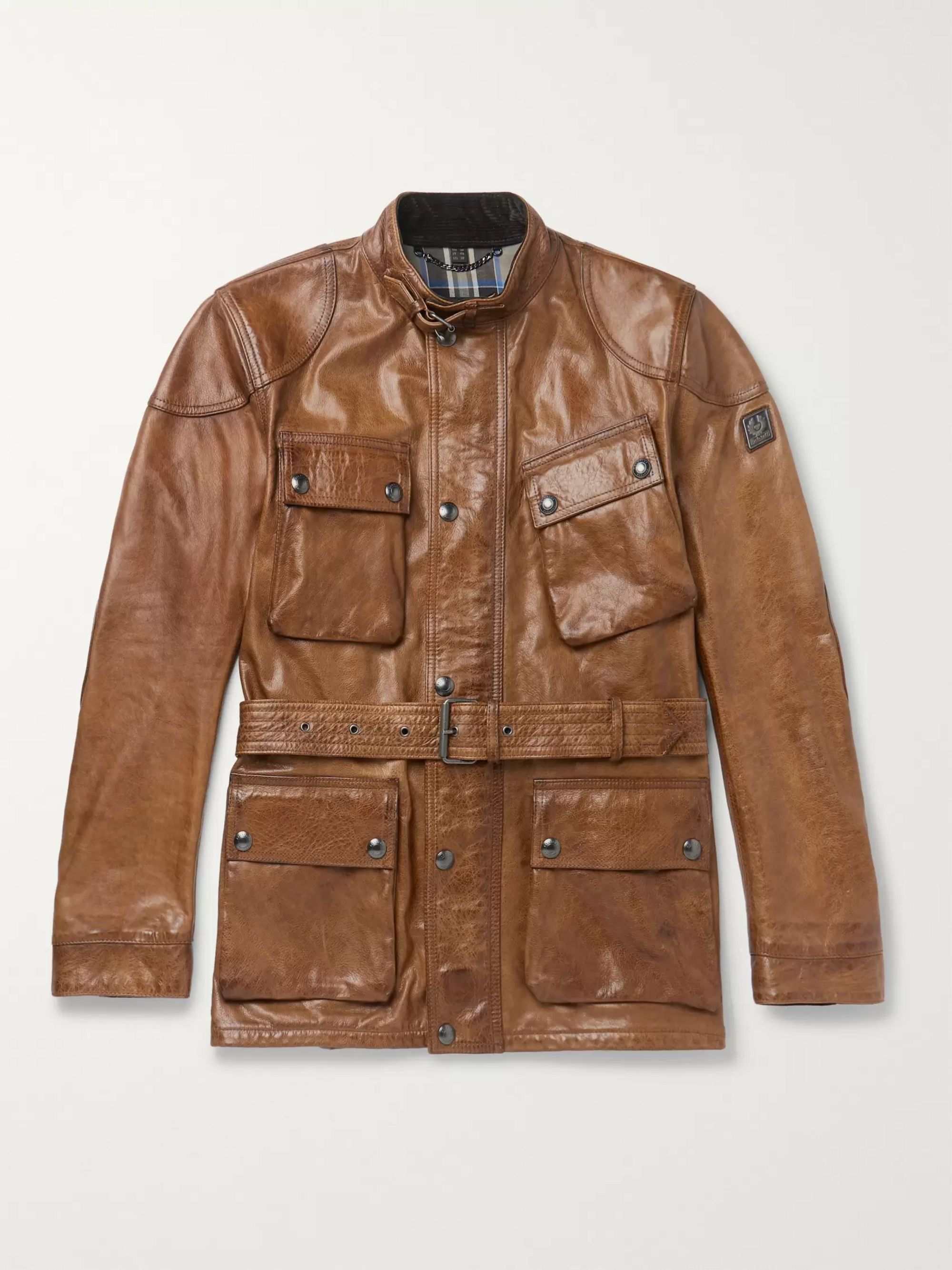 ee5e127b3 Trialmaster Leather Jacket